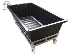 Quality Heavy Duty Poly Aquaponics Grow Bed With Wheels Rotomolding Garden Raised For for sale