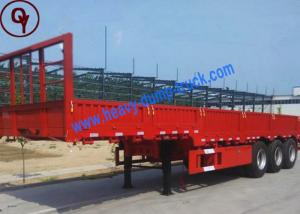 China Flatbed Container Transport Towing Semi Trailer on sale