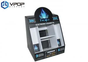 China High Capacity Cardboard PDQ Displays Environmental Friendly For Electronic Cigarette on sale