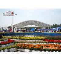 Outdoor Aluminum Frame Event Tent With Clear Top For High Class New Product Launch