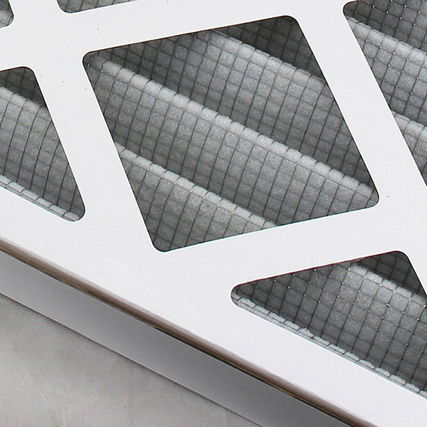oem odm paper cardboard frame coarse glass fiber cotton air