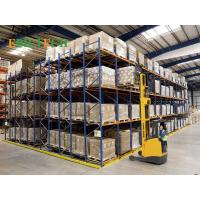Stainless  Push Back Racking  System Heavy Duty Warehouse FIFO Storage