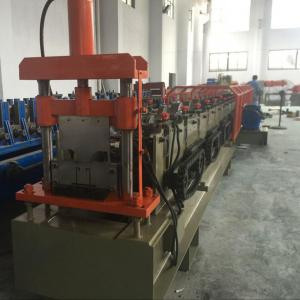 China 1.5mm Galvanized Ceiling Rail Shutter Door Roll Forming Machine With 11KW on sale