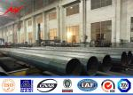Tubular Power Structure Electric Transmission Poles 500-2000Kg Working Load
