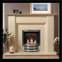 Indoor Electric Marble Fireplace