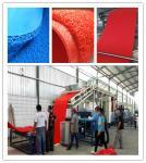 PVC CAR MAT MAKING MACHINERY PVC COIL CARPET PRODUCTION MACHINE