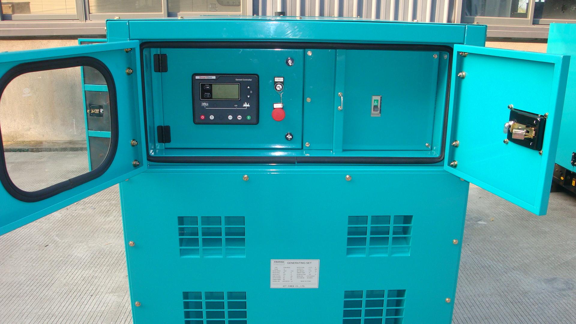 12kW Enclosed Perkins Diesel Generator with Weather Proof Silent