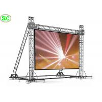 China Double Side P5 Full Color Hanging LED Display / LED TV Video Screen Waterproof on sale