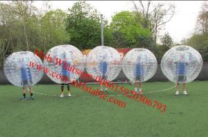 China inflatable bubble football inflatable bubble soccer ball human Hamster ball zorb ball on sale