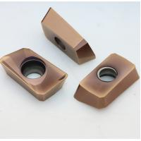 Bronze Color Carbide Insert Milling Cutters For Heavy Roughing Process APMT1604PDER