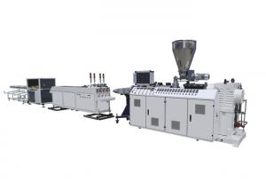China ISO9001 32mm 37kw 250kg/H PVC Pipe Extrusion Machine on sale