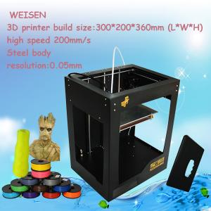 China china cheap 3d plastic printing machine,3d printer consumables on sale