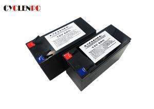 China 12v 6ah Emergency Lighting Battery Pack , UPS Power Supply Battery Backup High Energy Density on sale