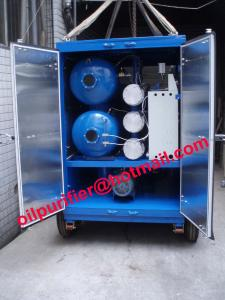 China Trailer mounted vacuum  transformer oil centrifuging machine, mobile insulation oil filter, oil purifier, oil filtration on sale