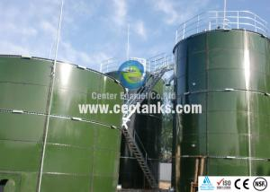 China Porcelain Enamel Steel Grain Storage Silos / 200 000 Gallon Water Tank GFTS on sale