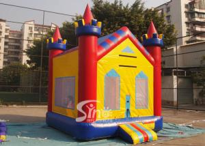 China 13x13 kids dream water proof inflatable bounce house with obstacle N basketball hoop inside on sale