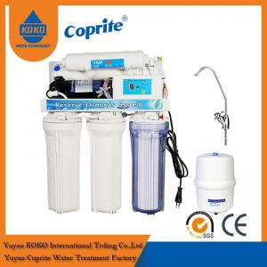 China GPD Under - Sink Auto Flush Reverse Osmosis Water Filtration System with Computer Water RO System on sale