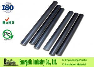 China Custom MOS2 Nylon Plastic Rod, Black Nylon 6 Plastic Rod / Tube on sale