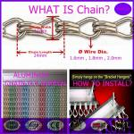 China High qualityAluminum Chain fly  Screens for domestci and commercial use from china seller wholesale