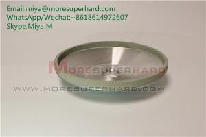 China 12A2  vitrified bond diamond grinding wheel for ceramic for pcd tools miya@moresuperhard.com on sale