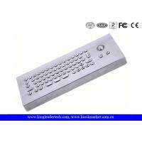 China 66 Keys Waterproof Industrial Desktop Keyboard With Aluminum Alloy Back Panel on sale