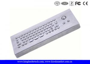 China 66 Keys Waterproof Industrial Desktop Keyboard With Aluminum Alloy Back Panel on sale