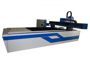China Acrylic Laser Cutting Machine , Small Laser Metal Cutting Machine For Aluminum on sale