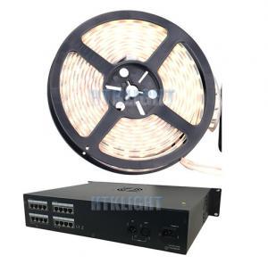 China 8 Port AC100V - 240V 800W DMX LED Controller 16bit Smooth Dimming on sale