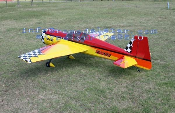 Gas Engine YAK55 50CC RC Model Airplane Balsa Wood Large