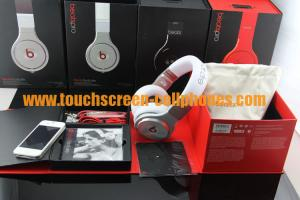 China Monster Noise Reduction Beats By Dr Dre Pro Earphones / Headphones White Black Red on sale