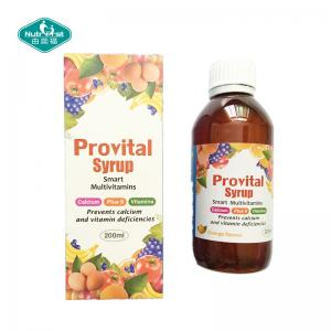China Brown Liquid Multivitamin Syrup 300ml for Immune & Anti-fatigue of  Health Food/Contract Manufacturing on sale