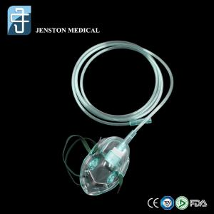 China Medical Oxygen Mask with 7ft Supply Tubing on sale