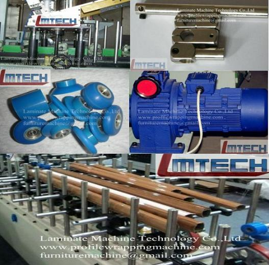 wrapping machines for profiles and panels