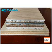 China 2400mm * 2400mm Honeycomb Stone Panels Large Size Marble Veneer Wall Panels on sale