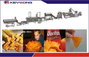 China Doritos production machine corn chips making plant food snacks machine on sale