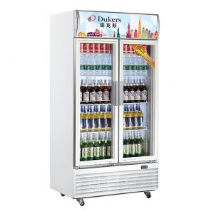 China Dukers Commercial Refrigerator Freezer Fan Cooling Upright Showcase on sale