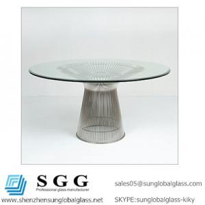 China CE& SGS certificated Grade A high quality Beveled Glass Top on sale