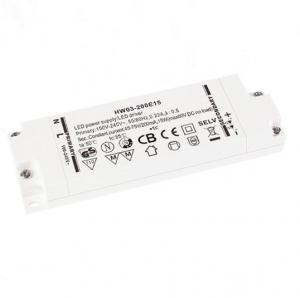 China 15W High PF Led Driver , CE Approved Power Supply Driver For Led Strip Light on sale