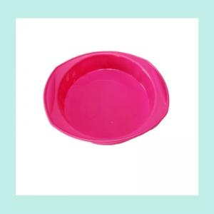 China silicone bread cake pans ,round silicone baking pan on sale