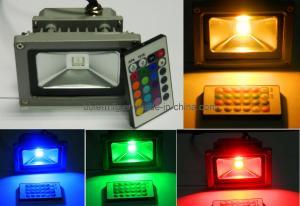 China 10W RGB LED Flood Light With Remote (BBFL-007) on sale