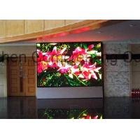 Full Color HD Indoor P4 LED Board Display Module 256mmx128mm Advertising LED Video Wall Indoor Front / Back Service