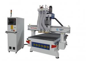 China C And C Wood Cutting Machine With Table Moving , Automatic Wood Carving Machine on sale