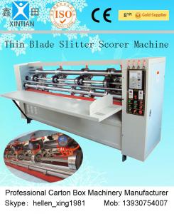 China Precision Folding Corrugated Carton Packaging Machinery , Corrugating Machine on sale
