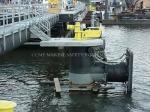 Defensa de goma de la célula estupenda marina para el barco (tipo del SC)