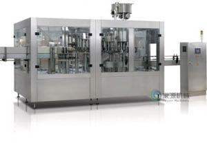 China AC 3 Phase Coconut / Olive Oil Filling Machine With Electric And Pneumatic Driven on sale