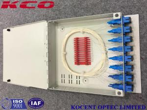 China KCO-FTB16D Fiber Optic Terminal Box 16 Ports For FTTH With SC/APC Adapter And Pigtail on sale