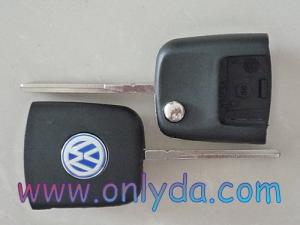 China VW Transponder key flip head on sale