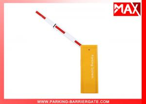 China OEM 3M  / 6M Automatic Boom Barrier with Heavy Duty Cooling Fan Motor on sale