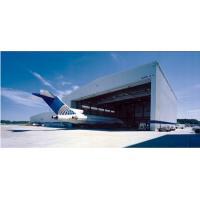 Aircraft Hangar Single Storey Steel Buildings High Rise Environmental Protection