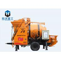Electric Cement Concrete Mixer Pump With Mixing High Pressure 5.8 T Weight